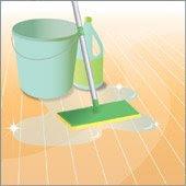 Come pulire il pavimento di casa con un metodo naturale ed efficace