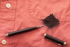 Come pulire le macchie di inchiostro