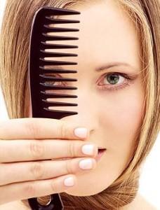 Pulire spazzola capelli