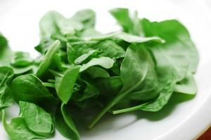pulizia degli spinaci