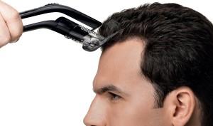 pulizia del tagliacapelli