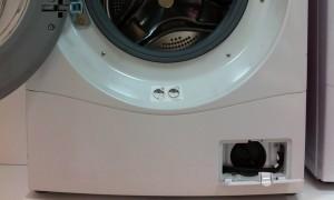 pulizia del filtro della lavatrice