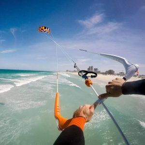 pulizia del kitesurf
