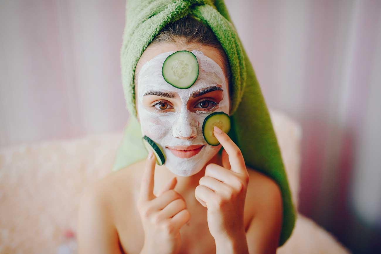 Argilla verde per pulizia di viso e capelli