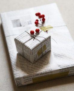 come incartare i regali di Natale in modo originale