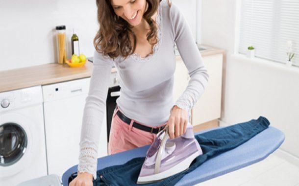 Come pulire l'asse da stiro