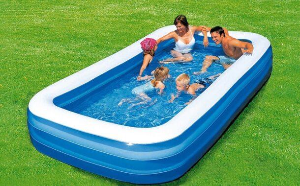 Come pulire la piscina gonfiabile