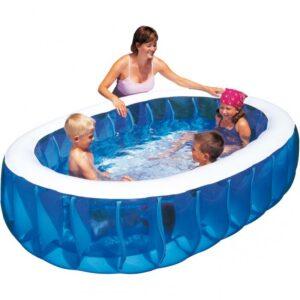 Pulizia della piscina gonfiabile