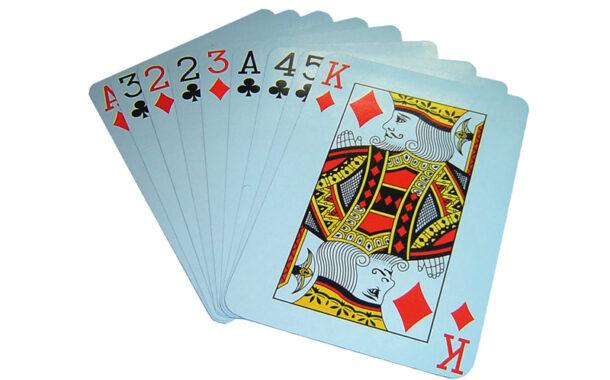 Come pulire le carte da gioco