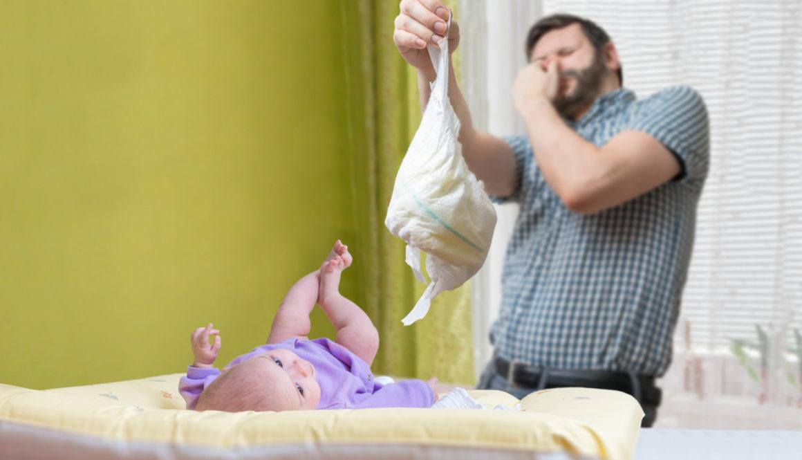 Come cambiare un pannolino