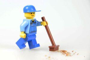 Pulizia dei Lego