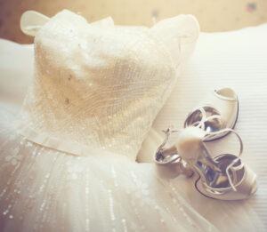 Pulizia abito da sposa
